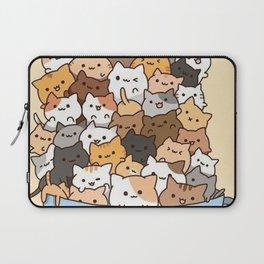 Full Cats Laptop Sleeve