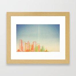 Sky and Steel Framed Art Print