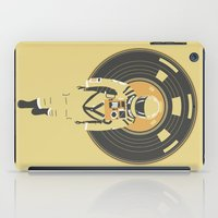 dj iPad Cases featuring DJ HAL 9000 by Robert Farkas