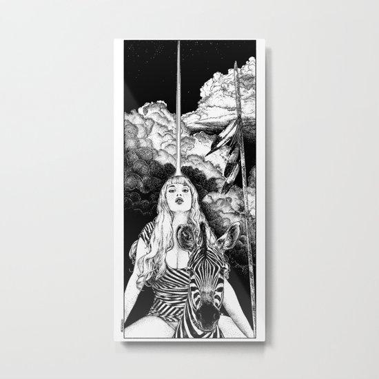 asc 706 - Le mystère Mang (The Mang mystery) Metal Print