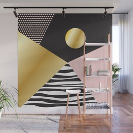 Golden Moon #buyart #society6 #decor Wall Mural