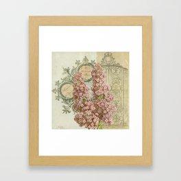 Mademoiselle Framed Art Print