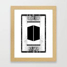 Time is a Death Machine Framed Art Print