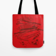 Serial Killer Toolbox Tote Bag