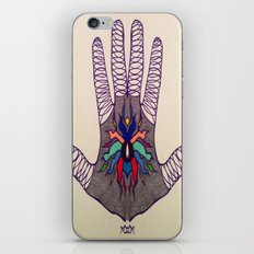 Hand Of Happiness  iPhone & iPod Skin
