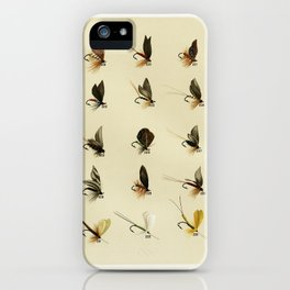 Trout Flies from Favorite Flies and Their Histories by Mary Orvis Marbury6 iPhone Case