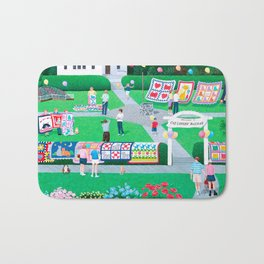 Cat Lovers Bazaar Bath Mat