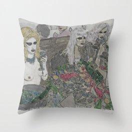 New York Decadence 2 Throw Pillow