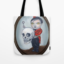 Head Banger - Carnival Sideshow Freak Tote Bag
