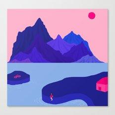 Mountain Hike//Missing Bike Canvas Print