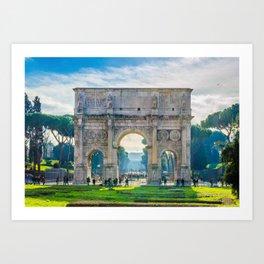 The Roman Arch Art Print