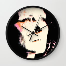 Staring into the Abyss Wall Clock