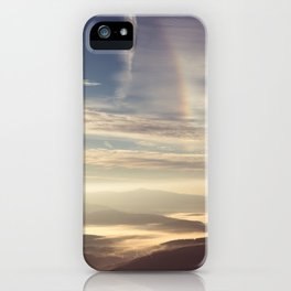 Morning Rainbow iPhone Case