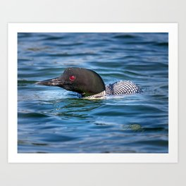 Mothers Day Loon Art Print