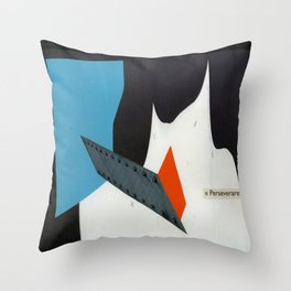 perseverare diabolicum Throw Pillow