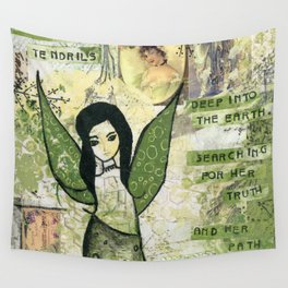 Garden Fairy Wall Tapestry