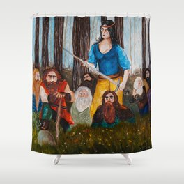 Snow-White and the Seven Dwarves Shower Curtain