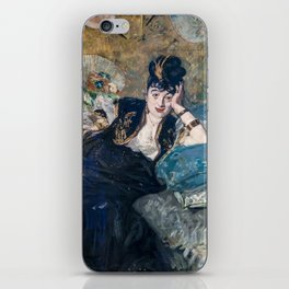 Edouard Manet - Lady with Fans iPhone Skin