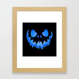 Blue Ghost Framed Art Print
