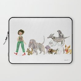 Doggy happiness Laptop Sleeve