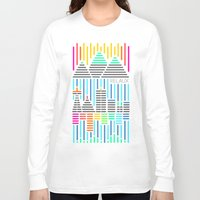 seattle Long Sleeve T-shirts featuring SEATTLE by RELAUX