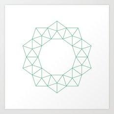 #236 Nova – Geometry Daily Art Print