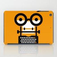 typewriter iPad Cases featuring typewriter by oguzhan