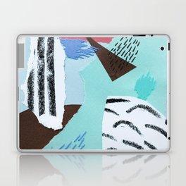 pastels paper collage Laptop & iPad Skin