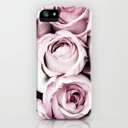 A Cascade of Perfectly Pink Roses iPhone Case