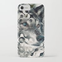 into the wild iPhone & iPod Cases featuring wild by Vin Zzep