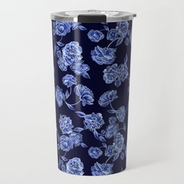 Porcelain Floral Travel Mug