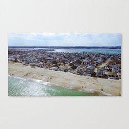 NH Beach Day Canvas Print