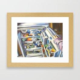 Complacency, Refrigerator Framed Art Print