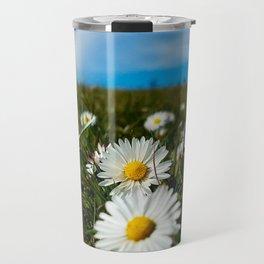 Wild Daisies Travel Mug