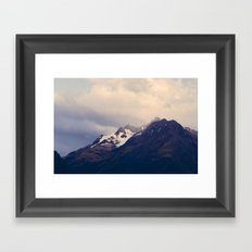 Vintage Mountain 12 Framed Art Print