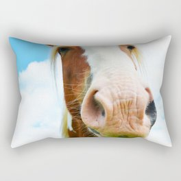 Horse in the Clouds Rectangular Pillow