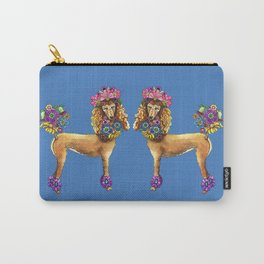 Poodle Dee Doo Two Carry-All Pouch