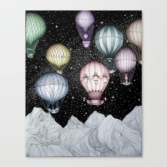 Night Flight II Canvas Print