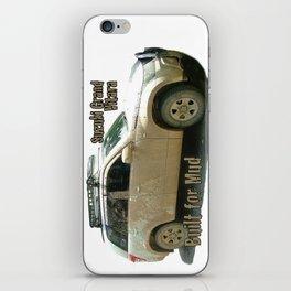 Muddy Zook Suzuki Grand Vitara iPhone Skin