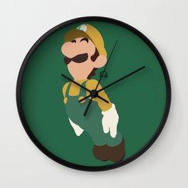 LUIGI(SMASH)GREEN Wall Clock