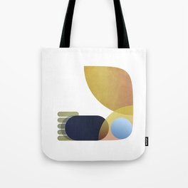 BIRD WORM & BULLET POINTS Tote Bag