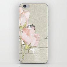 soft magnolia iPhone Skin