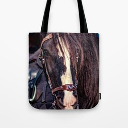 Concept Kaltblutmarkt 2018 : Horse eyes Tote Bag