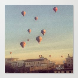 Cappadocian Hot Air Balloons Canvas Print
