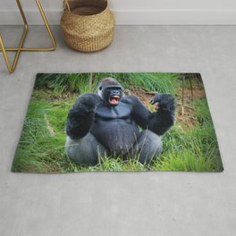 King Of The Jungle Rug