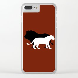 Wild Love Clear iPhone Case
