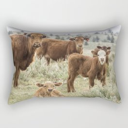 J'Accuse Rectangular Pillow