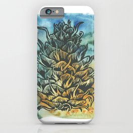 Douglas Fir Cone iPhone Case