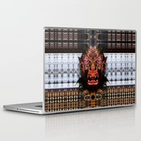 animal crew Laptop & iPad Skins featuring Animal by Zandonai