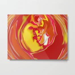 Embryonic - (Larger Size to enable more products) Metal Print